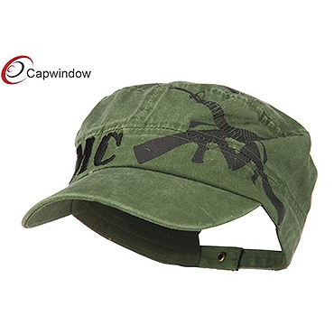 查看 (13025) Green Jeep Style Flat Top Military Hat with Pure Cotton 详情