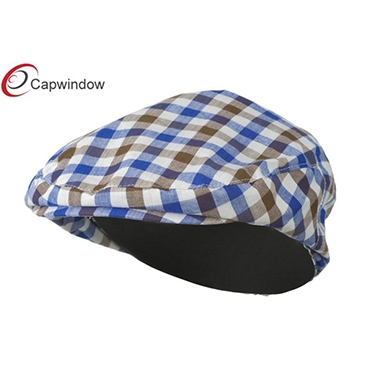 查看 (19001)Brown Blue Boy's Plaid Driving Ivy Cap 详情