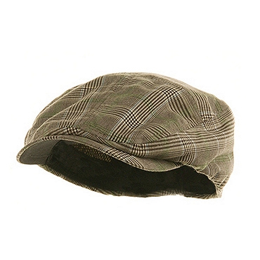 查看 (19004)Brown Fashion Plaid Ivy Cap 详情