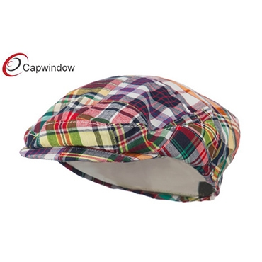 查看 (19005)Multi Patchwork Plaid Portland Madras Plaid Ivy Cap 详情