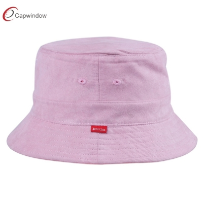 查看 Customized Suede and Satin Lining Bucket Hats With Flat Embroidery For Unisex 详情